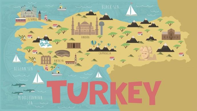 تركيا تهدف إلى استقبال 57 مليون سائح خلال العام الجاري