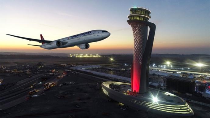 منذ بدء العمل بالمطار 30 مليون مسافر عبر مطار إسطنبول