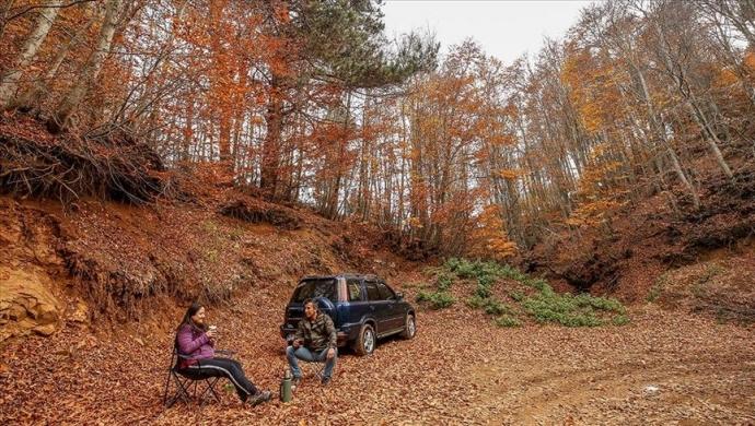 """إقبال كبير على جبل """"أولوداغ"""" لقضاء عطلة بأحضان الطبيعة"""