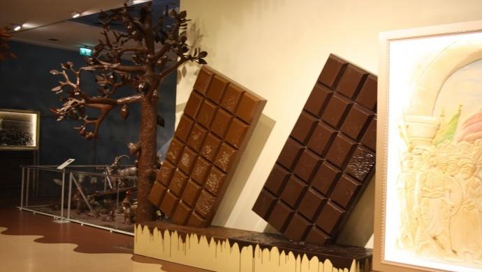 جولة متحف الشوكولا